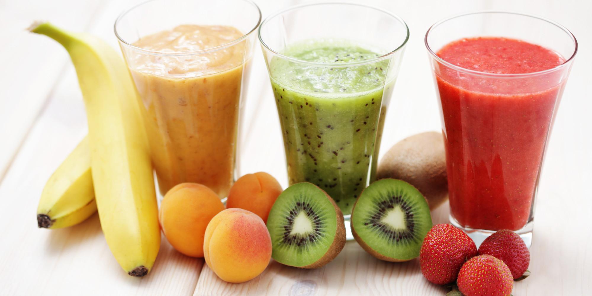 Des jus de fruits et de légumes à boire régulièrement